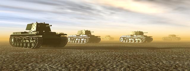 Russian Heavy Tanks of World War II