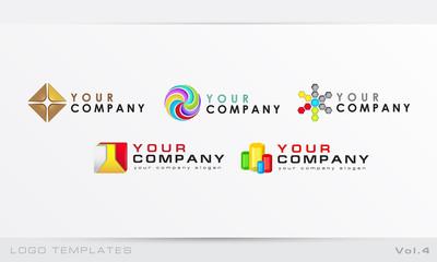 Logo templates Vol.4