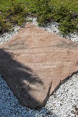 Gedenkstein für Ordensgründerin