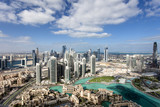 Skyline von Downtown Dubai - Fine Art prints