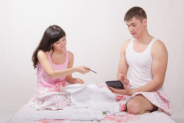 Husband and wife are counted amount for payment