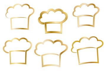 Goldene Kochmützen, Logos