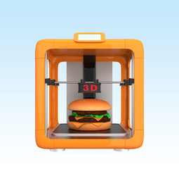 3D printing technology for food production