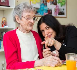 In der Demenz-Wohngemeinschaft