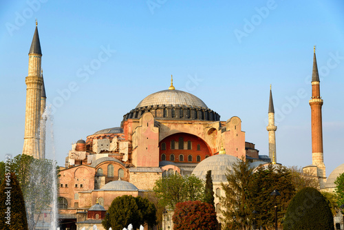 Sainte sophie à Istanboul Poster