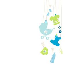 Hanging Baby Symbols Boy