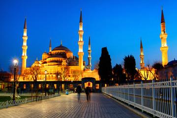 La mosquée bleue à Istanboul