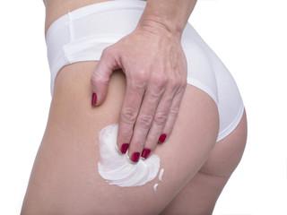 Massaggio con crema