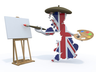 england map painter