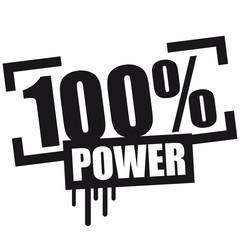 100 % Power Broken Design