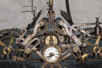 church clock machinery