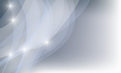 vector abstract backdrop with white grid and lights