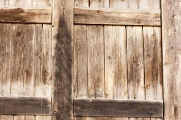 wooden gate under  arches