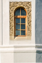 Woodcarved  frame window