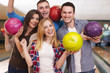 Bowling with friends is the best idea for entertainment