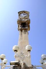 Farola reloj