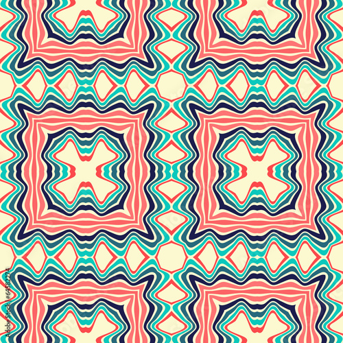 Fotobehang Kunstmatig Seamless pattern
