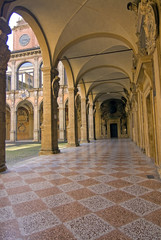 view of archiginnasio - bologna