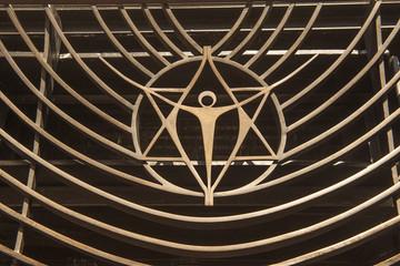 """Christusfigur im """"Eremo della trasfigurazione"""" bei Assisi"""