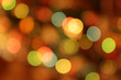 Festive multicolored background with bokeh effect