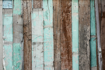 Old Grunge wooden wall texture,Tropical