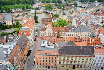 Old Town Wroclaw with River