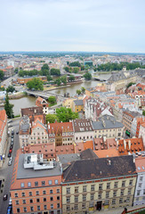 Panorama Wroclaw with River