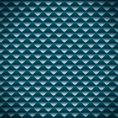 Abstract blue mosaic vector background