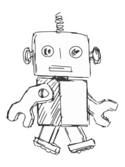 children robot