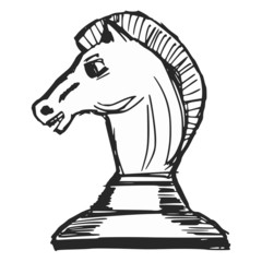 knight - chess figure