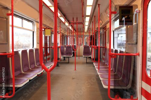 Staande foto Praag Wagon train