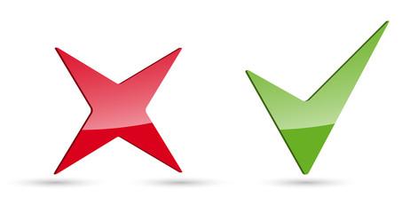 Kreuz Haken Icons