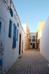 Old town, traditional architecture in Tunisia