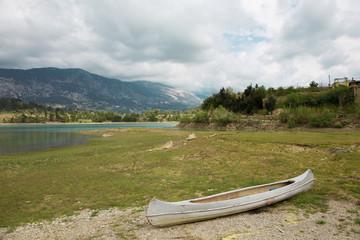 Abandoned boat near Manavgat in Turkey