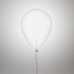 Bulb inside a balloon