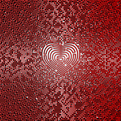 Ultimate heart maze