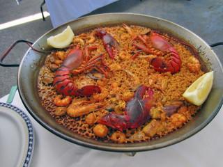 Paella de Bogavante