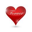 forever heart illustration design