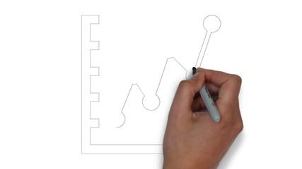 Chart Kurve Erfolg Börse Umsatz Gewinn Diagramm