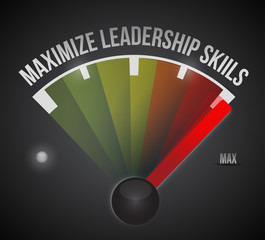 maximize leadership skills to the max illustration