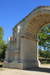 The triumphal arch of Glanum