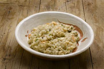 Risotto ai frutti di mare Risotto with seafood