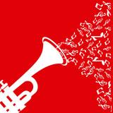 Fototapety Music design