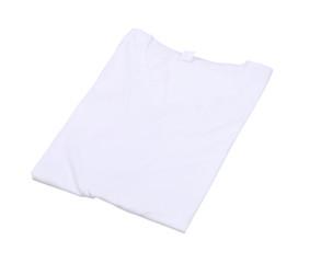 folded t-shirt isolated
