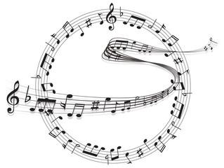 音楽 音符 フレーム