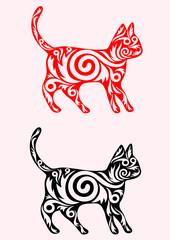 Cat ornate