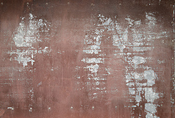 Rusty metallic texture for background