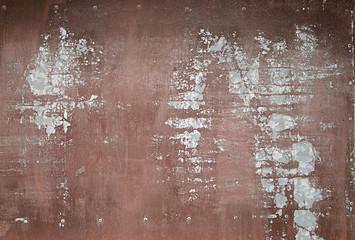 Rusty metallic texture for background