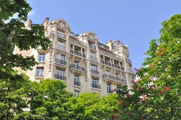 immeuble de prestige parisien