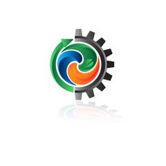 логотип вода